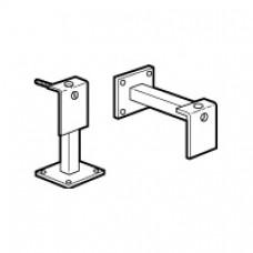 Déclencheur électromagnétique porte coupe-feu - support métallique