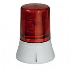 Feu tournant signalisation 1500 candelas - IP 65 - IK 10 - 230 V~ - rouge