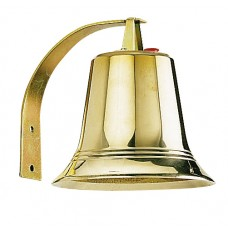Cloche bronze poli - alimentation : 8 V~ - 50/60 Hz