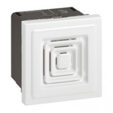 Ronfleur Mosaic - 230 V - 2 modules - blanc