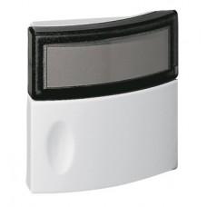 Bouton poussoir Salsa - porte-étiquette - IP 44 - IK 06