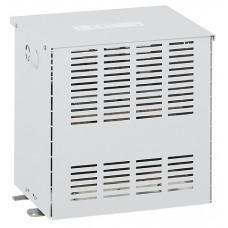 Transfo séparation circuit tri protégé - prim 400 V/sec 230 V + N - 4 kVA