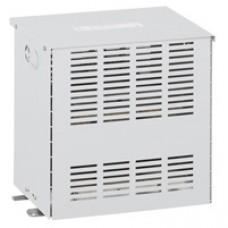 Transfo séparation circuit mono protégé - prim 230/400 V/sec 115/230 V - 6,3 kVA