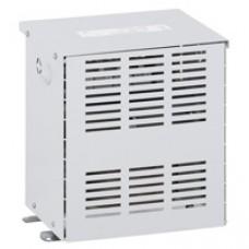Transfo sécu tri protégé - prim 230/400 V/sec 24/42 V - 6300 VA