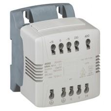 Transfo cde et signal mono connexion auto - prim 230/400 V/sec 24 V - 63 VA