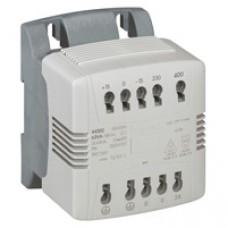 Transfo cde et signal mono connexion auto - prim 230/400 V/sec 24 V - 100 VA