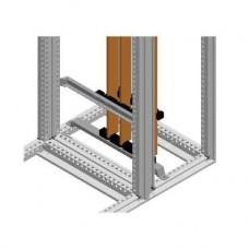 Barre perforée pour jeu de barres vertical 80 x 10 mm