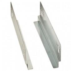 Glissières fixes (2) - montants 19'' (4) - pour baies P. 1000 mm - LCS²