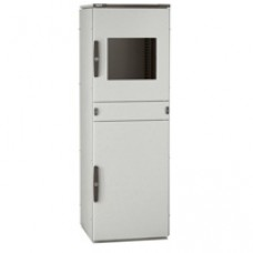 Armoire PC - IP55 IK10 - 1600x600x600 mm - RAL 7035