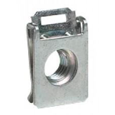 Clips-écrou pour vis M8 - pour bati d'armoire Altis et traverses perforées
