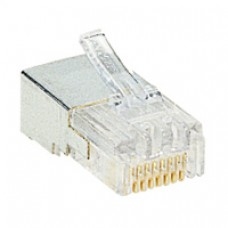 Fiche RJ 45 Cat.5e - 8 contacts - larg. 11,7 mm