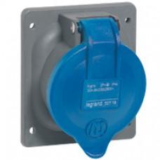 Socle tableau plastique Hypra - IP44 - 32 A - 200/250 V~ - 3P+N+T