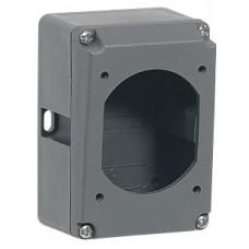 Boîtier réversible Hypra - IP44/66/67-55 - 16 A - 2P+T - plast