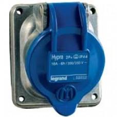 Socle de tableau Hypra - IP44 - 16 A - 200/250 V~ - 3P+T - métal