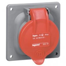 Socle tableau plastique Hypra - IP44 - 32 A - 380/415 V~ - 3P+T