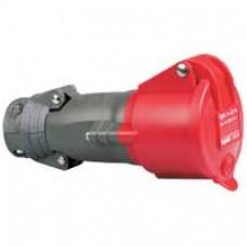 Prise mobile Hypra - IP44 - 16 A - 380/415 V~ - 3P+N+T - plast