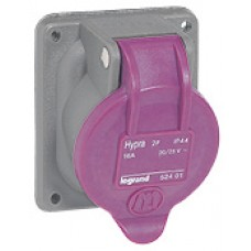 Socle tableau Hypra - IP44 - TBT 16 A - 20/25 V~ - 2P - plast