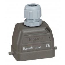 Kit connect multipôles Hypra - 16 A - 500 V - 6P+T - encastré sortie verticale