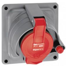 Socle tableau Prisinter Hypra - IP44/55 - 32 A - 380/415 V~ - 3P+T - plast