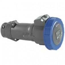 Prise mobile Hypra - IP66/67-55 - 16 A - 200/250 V~ - 2P+T - plast