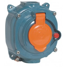 Socle saillie Prisinter ML - IP44 - 63 A - 380/415 V~ - 3P+T - métal
