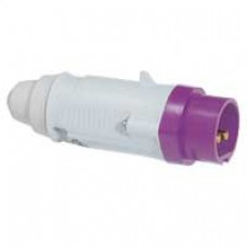 Fiche droite P17 - IP44 - 32 A - 20/25 V~ - 2P - plast
