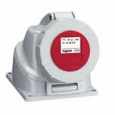 Socle saillie P17 - IP66/67 - 16 A - 380/415 V~ - 3P+N+T - plast
