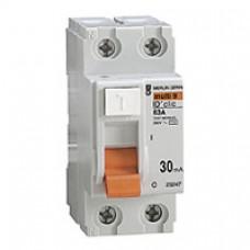 Interrupteur différentiel ID' clic-2P-63A-classeAC 30mA