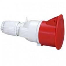Prise mobile P17 - IP44 - 16 A - 380/415 V~ - 3P+T - plast