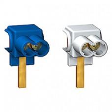 Connecteurs 25 mm2 (2 bleu + 2 gris)
