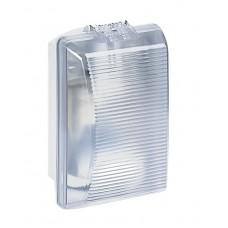 Hublot Plexo étanche -IP54/IK08- lampe incandescence 75 W - diffuseur clair