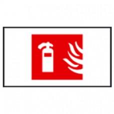 Plaque signalisation lutte incendie Arcor - picto extincteur