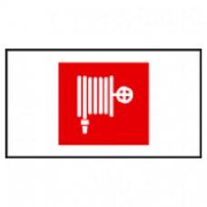Plaque signalisation lutte incendie Arcor - picto robinet d'incendie armé