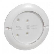 BAES pour habitation- KICKSPOT encastré ECO2 -LEDS 8LM-5H plastique IP40-IK04