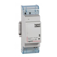 Alimentation Céliane BUS/SCS - 220-240 V  sortie 1-2 27 V= - 600 mA - 2modules DIN
