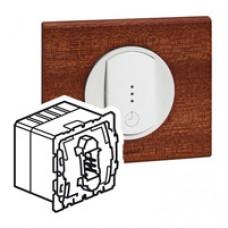 Interrupteur avec ventilation retardée Céliane - 250 W - 250 VA