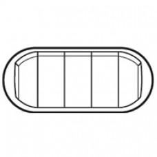 Enjoliveur Céliane - interrupteur va-et-vient / poussoir 5 cdes compactes - blanc