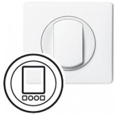 Enjoliveur Céliane - interrupteur horaire programmable - blanc