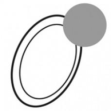 Enjoliveur Céliane - lampe débrochable autonome - titane