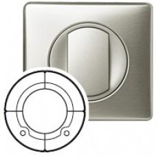 Enjoliveur Céliane - cde double pour interrupteur Radio/ZigBee® - titane
