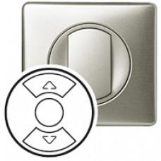 Enjoliveur Céliane - interrupteur individuel CPL/IR/radio de volet - titane