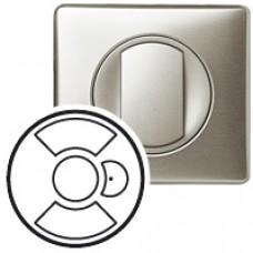 Enjoliveur Céliane - interrupteur individuel CPL/IR dérogation vent/soleil - titane