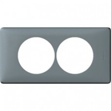 Plaque Céliane - neutre - 2 postes - pour rénovation - ciment