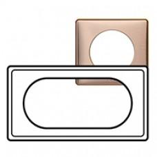 Plaque Céliane - Métal - 4/5 modules - Copper