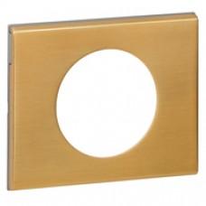 Plaque Céliane - Matières - 1 poste - Bronze Doré