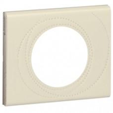 Plaque Céliane - Matières - 1 poste - Cuir Perle Couture