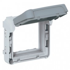 Adapateur Prog Plexo composable pour fonction Mosaic - volet fumé verrouillable