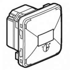 Interrupteur crépusculaire Prog Plexo composable blanc - 1400 W