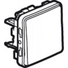 Poussoir NO Prog Plexo composable blanc - 10 A