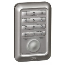 Lecteur ext à badge et clavier codé rétro-éclairé-Programme Soliroc- IP 55/IK 10